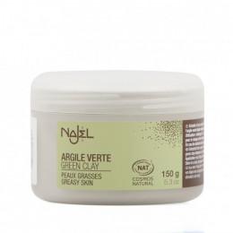 Argile verte - peaux grasses - 150 g