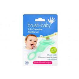 Brosse à dents pour bébé - vert translucide