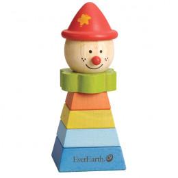 Clown à empiler Pyramide - à partir de 1 an