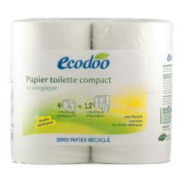 Papier toilette compact recyclé