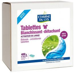 Tablettes blanchissant détachant