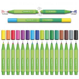 Minis marqueurs 1 mm Link It Bio 8 couleurs - à partir de 3 ans *