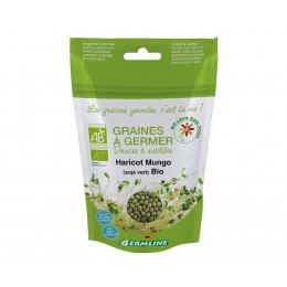 Graines à germer - Haricot Mungo (Soja vert) BIO