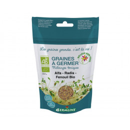 Graines à germer - Alfalfa Radis Fenouil BIO