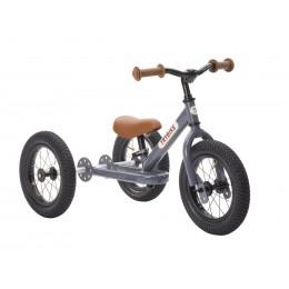 Trybike 2-en-1 gris - tricycle
