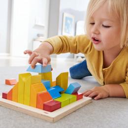Jeux de formes et d'assemblage 3D en bois - à partir de 2 ans