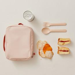 Lunch bag Go REPet - Blush et terracotta