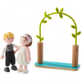 Poupées articulées Les mariés - Little Friends