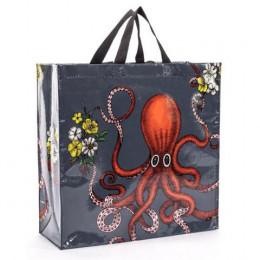 Grand cabas shopper en matériaux recyclés - Octopus