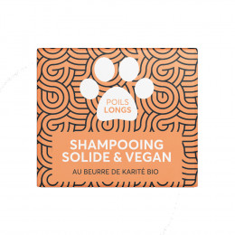 Shampooing solide pour animaux - Poils longs - 60 ml
