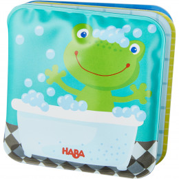 Mini-livre de bain Grenouille Fritz - à partir de 18 mois