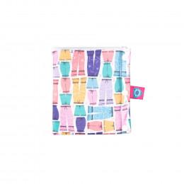 Pochette de transport hygiénique - Bloom & Nora - 2 compartiments - Amelia