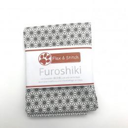 Furoshiki 44 x 44 cm - Geometric White
