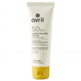 Crème solaire visage BIO -  SPF50 - 50 ml