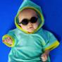 Lunettes de soleil bébé Diabola 2.0 - 0 à 1 an - Noir