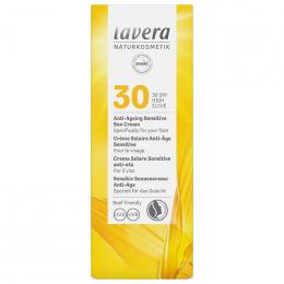 Crème solaire anti-âge Sensitive visage - SPF30 - 50 ml