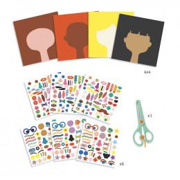 Stickers pour les petits - Coiffeur