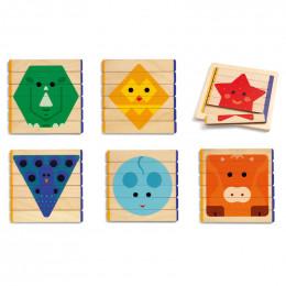 Puzzles en bois - Basic