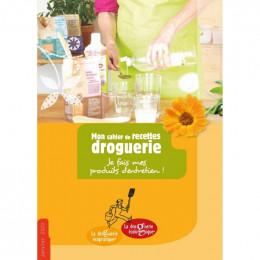 """Mon cahier de recettes """"Droguerie"""""""