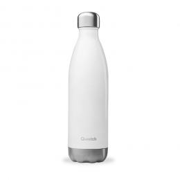Bouteille nomade isotherme 750 ml - Blanc brillant