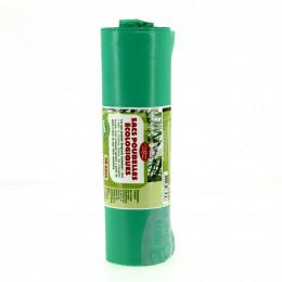 Sacs poubelle éco-plastiques 100L - Rouleau de 10 sacs