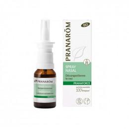 Pranaforce : spray nasal décongestionnant BIO