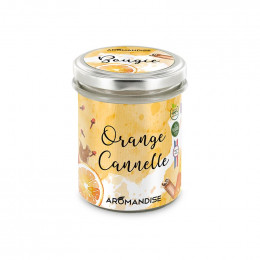 Bougie d'ambiance - Orange Cannelle