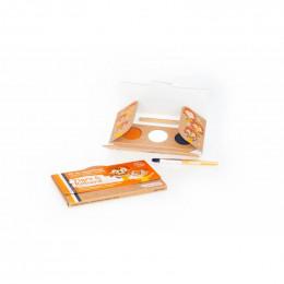 Kit de maquillage Bio 3 couleurs - Tigre et renard - à partir de 3 ans