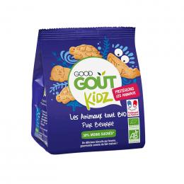 Biscuits Kidz - Les animaux tout Bio pur beurre - 120 g