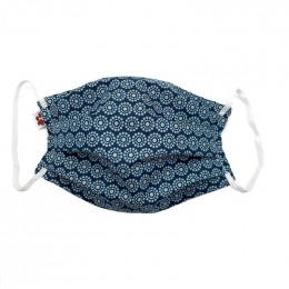 Masque buccal  avec pince nez pour adulte - Orebro blue