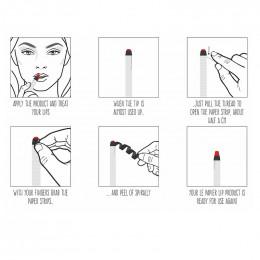 Rouge à lèvres hydratant glossy nude - Le papier - 6 g - Dusty rose