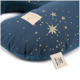 Coussin d'allaitement Sunrise - Gold stella & Night blue