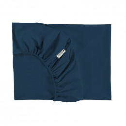 Drap-housse lit simple Tibet - Night blue 90 x 200 cm