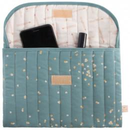 Trousse à couches Bagatelle - Gold confetti & Magic green