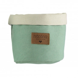 Panier en coton Tango - Provence green - small