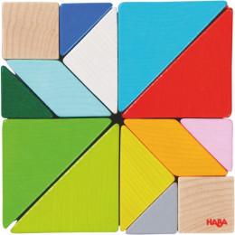 Jeu d'assemblage en 3D Tangram cube