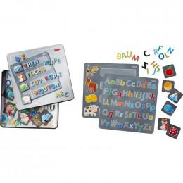 Boîte de jeu magnétique Lettres