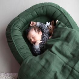 Nid pour bébé - vert foncé