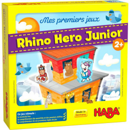 Jeu - Mes premiers jeux - Rhino Hero Junior