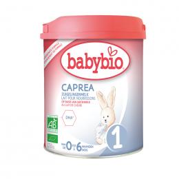 Lait de suite BIO au lait de chèvre - CAPREA 1 - de 0 à 6 mois