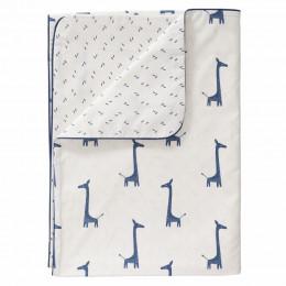 Housse de couette - girafe indigo blue (140x200)