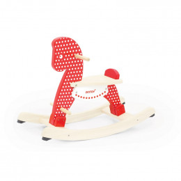 Cheval à bascule en bois - Polka dots - à partir de 12 mois
