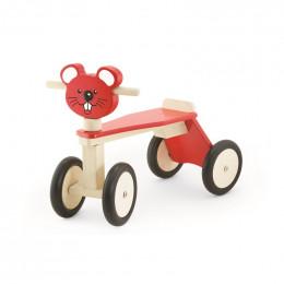 Tricycle en bois - Souris - à partir de 18 mois