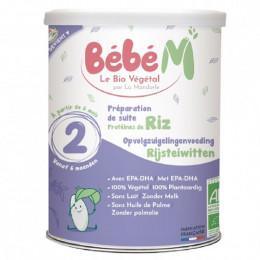 Préparation infantile de suite 2 - à base de protéines de riz - A partir de 6 mois