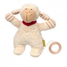 Peluche Nature musicale - Mouton blanc