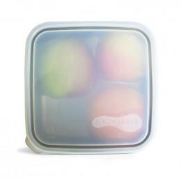 Couvercle pour boîte carrée - 16 cm - Translucide