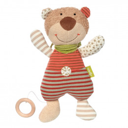 Peluche Nature musicale - Ours lignes
