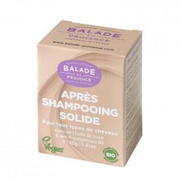Après shampooing solide Bio - Tous types de cheveux - 40 g