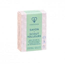 Savon Bio - Scout toujours - Cire et citronnelle - 100 g