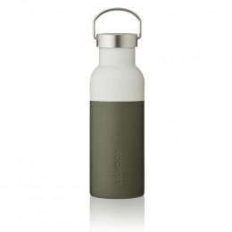 Gourde isotherme Neo - Hunter green & dove blue mix - 500 ml